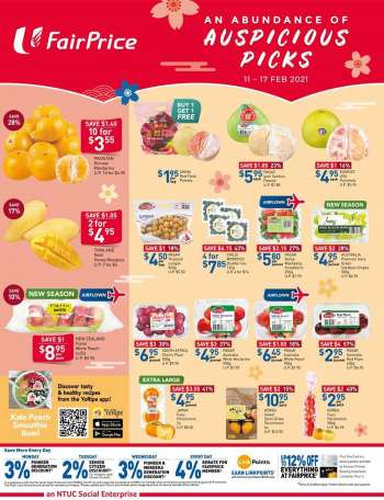 FairPrice catalogue  - 11.02.2021 - 17.02.2021.